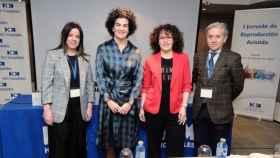 Marta Sánchez-Dehesa, Elena Abarca, Rocío Rodríguez e Isidoro Bruna