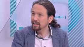 Pablo Iglesias, entrevistado en Los Desayunos de TVE.