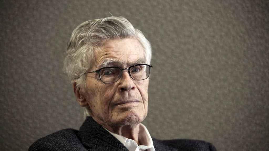 El filósofo, físico y humanista Mario Bunge.