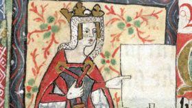 La reina Matilde de Inglaterra.