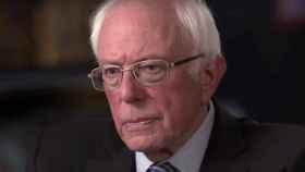 Bernie Sanders en una entrevista concedida a CNN.