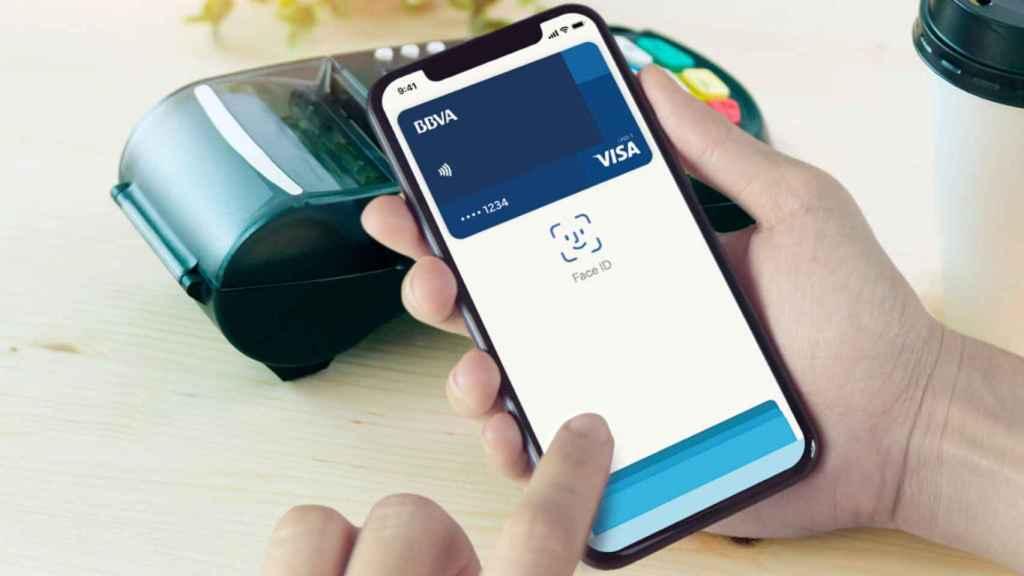 Apple Pay con BBVA.