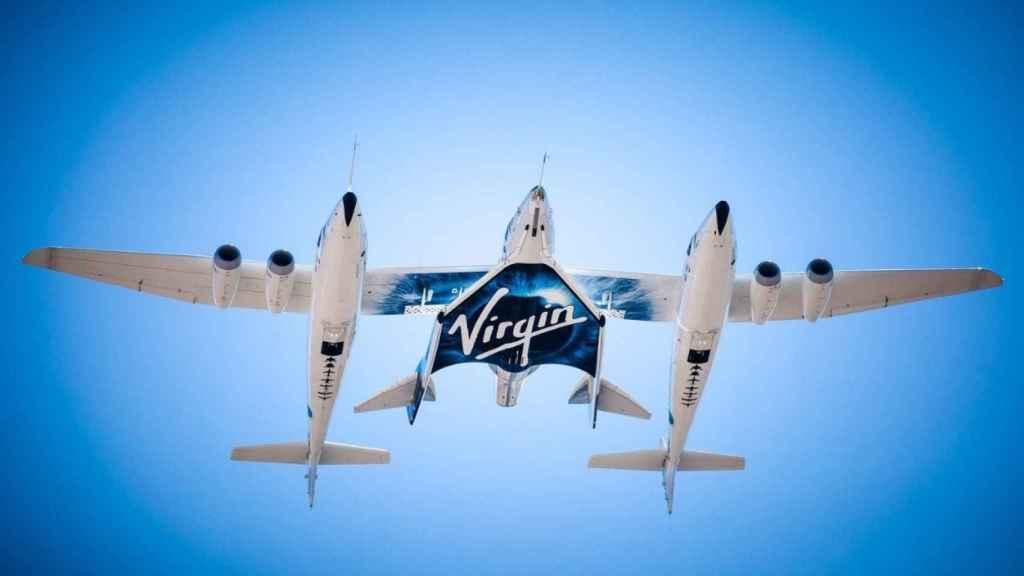 Nave de Virgin Galactic