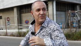 El colaborador Víctor Sandoval.