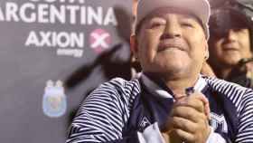 Diego Armando Maradona, con Gimnasia y Esgrima