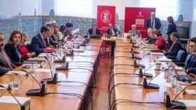 foto de archivo del Consejo Social de la UCLM cuando todavía la presidía Emilio Ontiveros