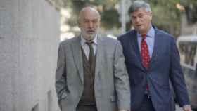 Miguel Florit, a la izquierda, y su abogado, José Zaforteza./