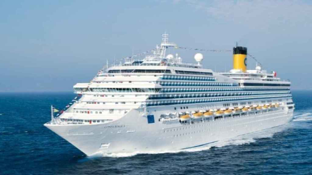 Uno de los barcos de Costa Cruceros.