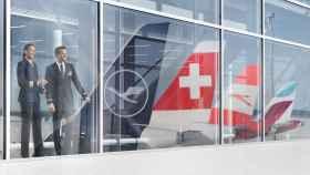 Empleados de Lufthansa.