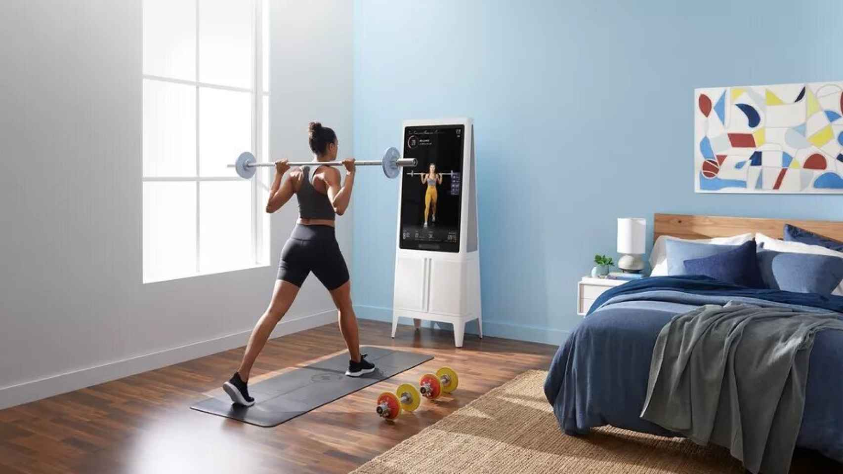 Tempo, el gimnasio en tu casa inteligente.