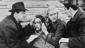 Escena de 'La ley del silencio', de Elia Kazan, protagonizada por Marlon Brando.