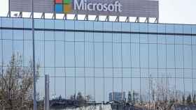 Sede de Microsoft en el Parque Empresarial La Finca de Pozuelo de Alarcón, en Madrid.