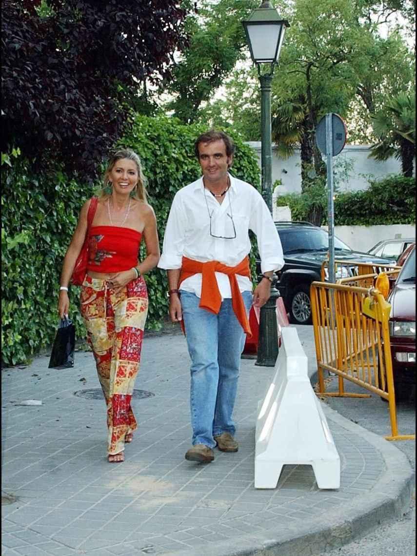Antonio Montero y Marisa Martín-Blázquez en el año 2004.