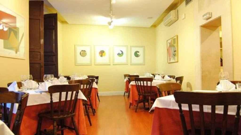 Interior del restaurante Los Arrieros