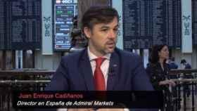 Juan Enrique Cadiñanos, director de Admiral Markets España