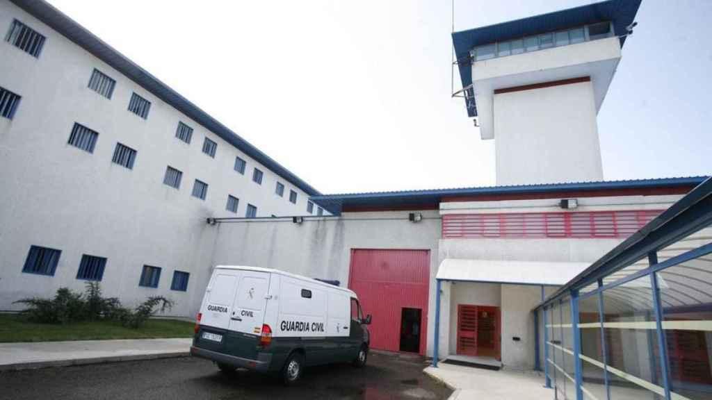 Exterior de la prisión de A Lama, en Pontevedra.