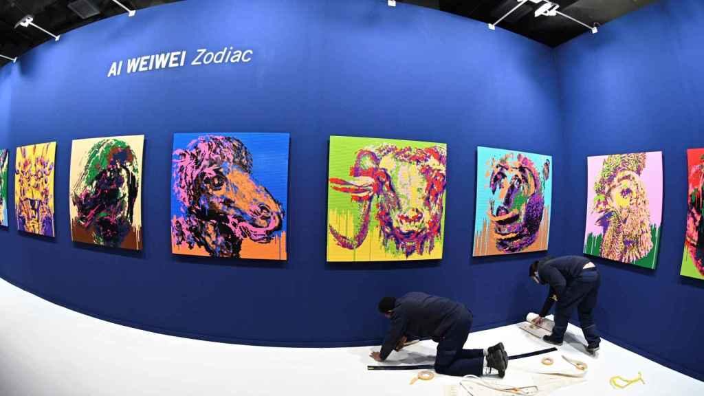 Obras del artista chino Ai Weiwei en ARCO.