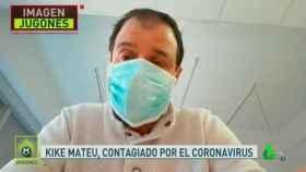 Kike Mateu, del Chiringuito de Jugones, infectado por coronavirus