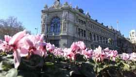 Fachada del Banco de España.