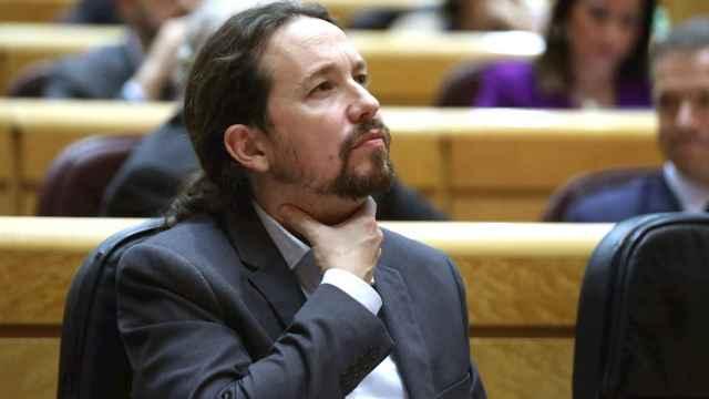 El líder de Podemos, Pablo Iglesias, en una imagen de archivo.