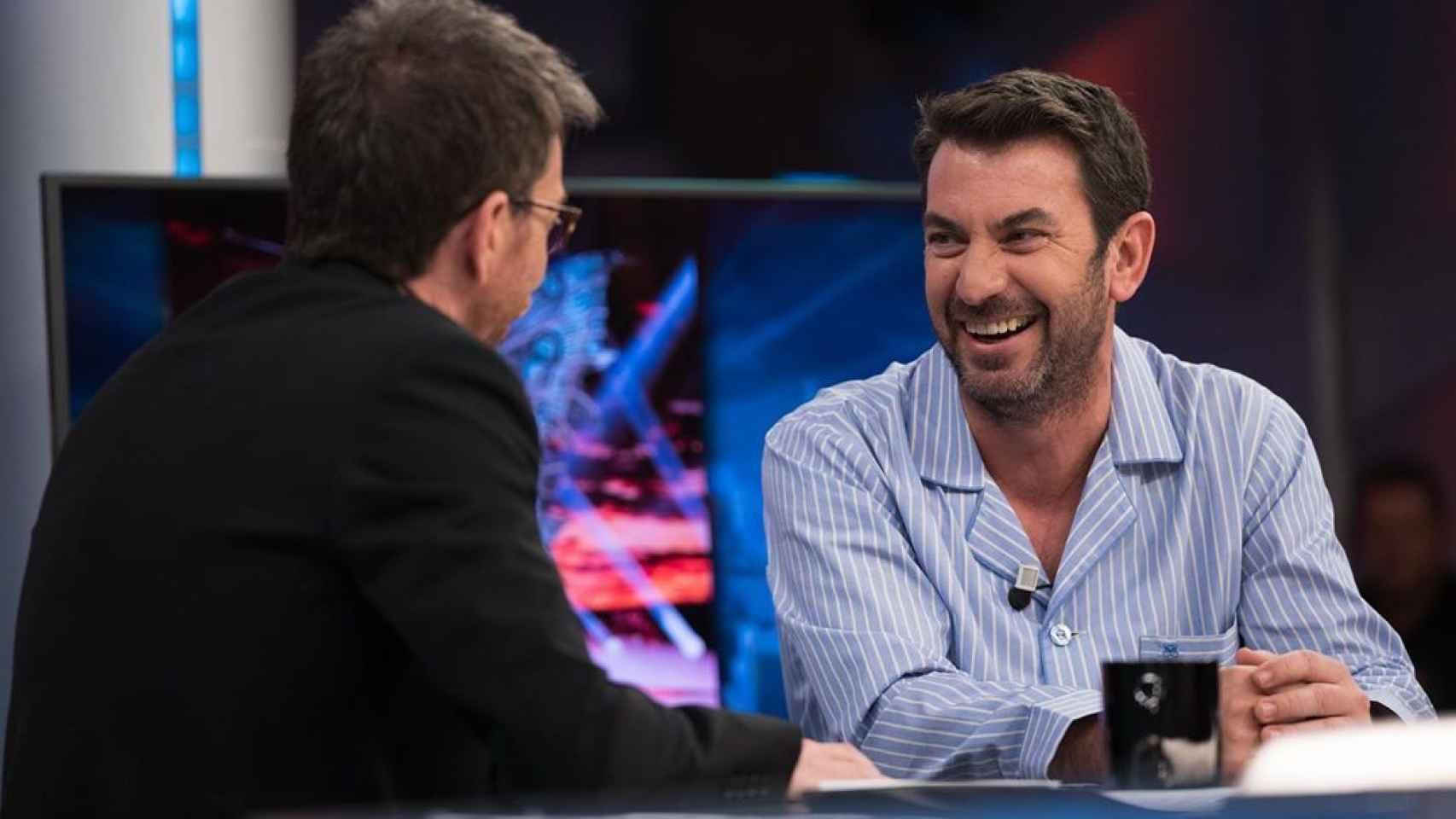 Arturo Valls, este jueves en 'El Hormiguero'.