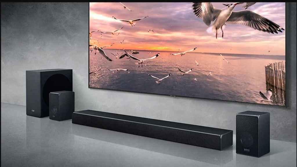 Barra de sonido Samsung Q90R