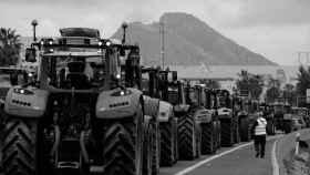 Protestas de los agricultores españoles, en una imagen de archivo.
