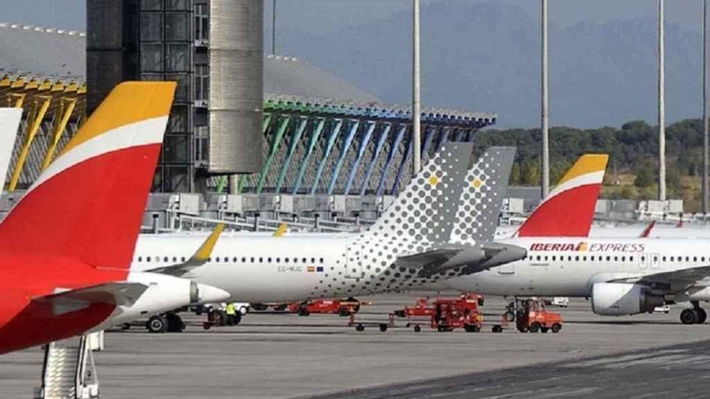 Aviones de IAG en imagen de archivo.
