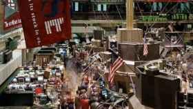 Imagen del parqué de la Bolsa de Nueva York.