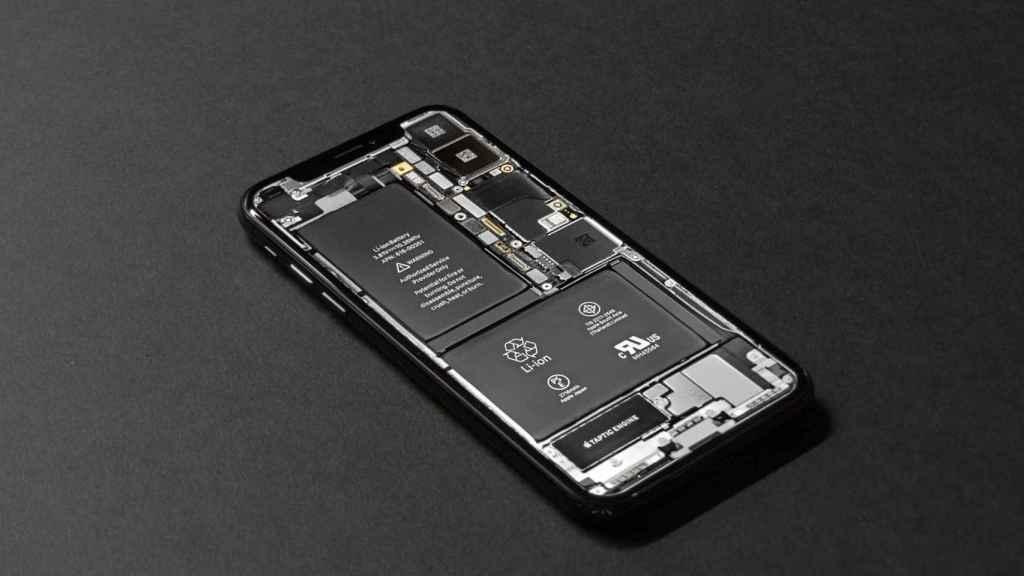 Batería de un smartphone.