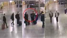 Las imágenes grabadas por las cámaras de seguridad, a las que ha tenido acceso este diario.