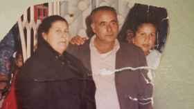 El churrero gaditano Antonio Romero, asesinado hace 13 años, junto a su mujer.