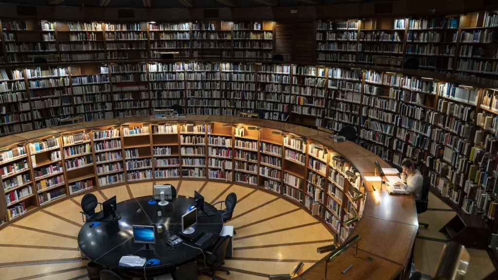 Biblioteca del IPCE.