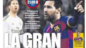 La portada del diario Mundo Deportivo (01/03/2020)