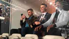Cristiano Ronaldo, en el Santiago Bernabéu para ver El Clásico