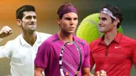 Djokovic, Nadal y Federer, el 'Big Three'