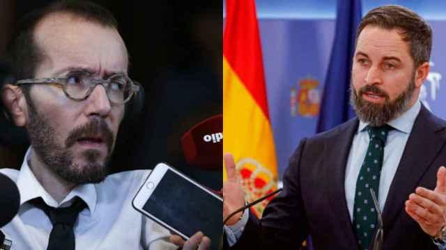 Pablo Echenique y Santiago Abascal.