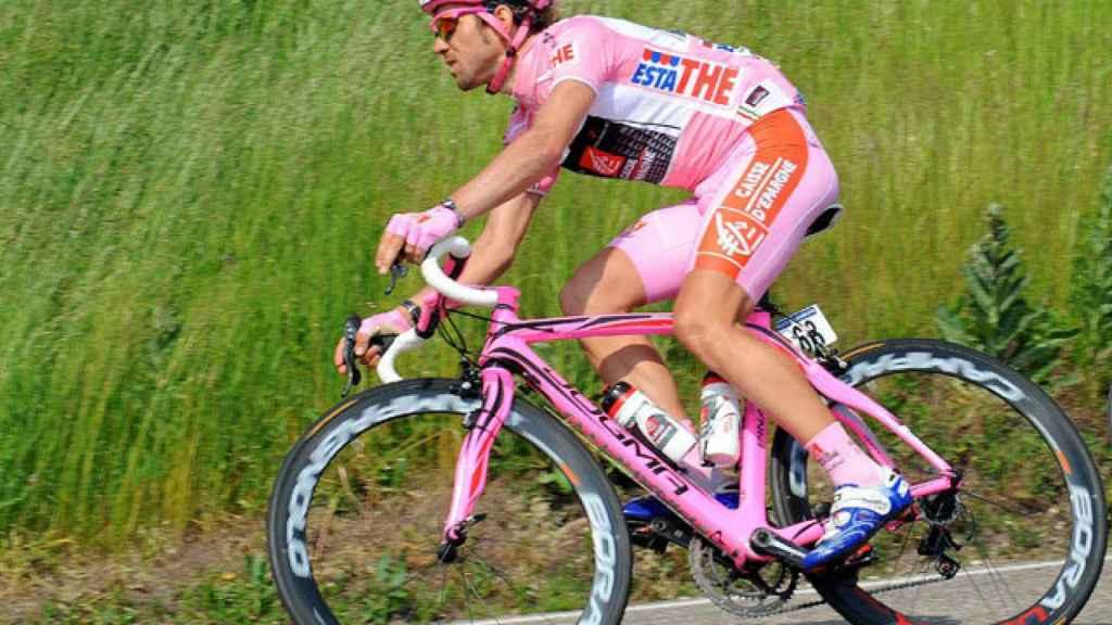 Ciclista durante una cursa.