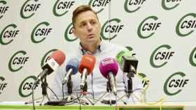 Carmelo Gómez, responsable de Prevención de Riesgos Laborales de CSIF Castilla-La Mancha