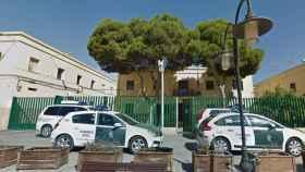 Cuartel de la Guardia Civil en Roquetas de Mar.