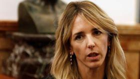 Cayetana Álvarez de Toledo, portavoz del Grupo Popular en el Congreso de los Diputados.