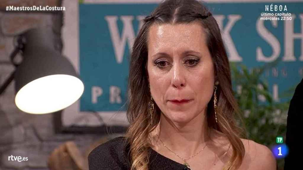 Laura, la última expulsada de 'Maestros de la costura'.