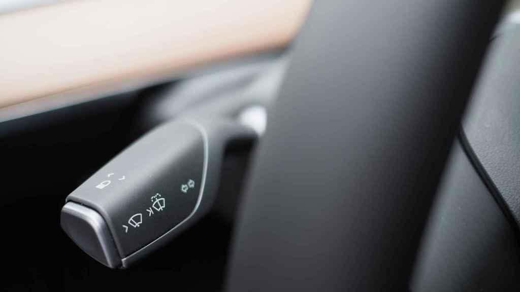 Palanca de control del Tesla Model 3