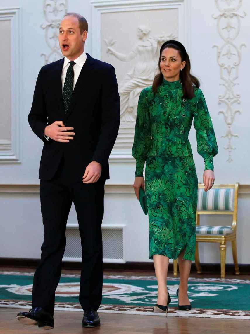 Guillermo de Inglaterra y Kate MIddleton en Irlanda.