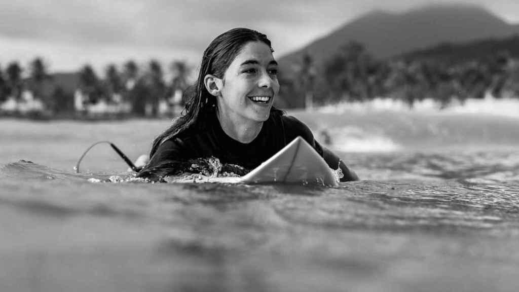 Garazi Sánchez, surfista española