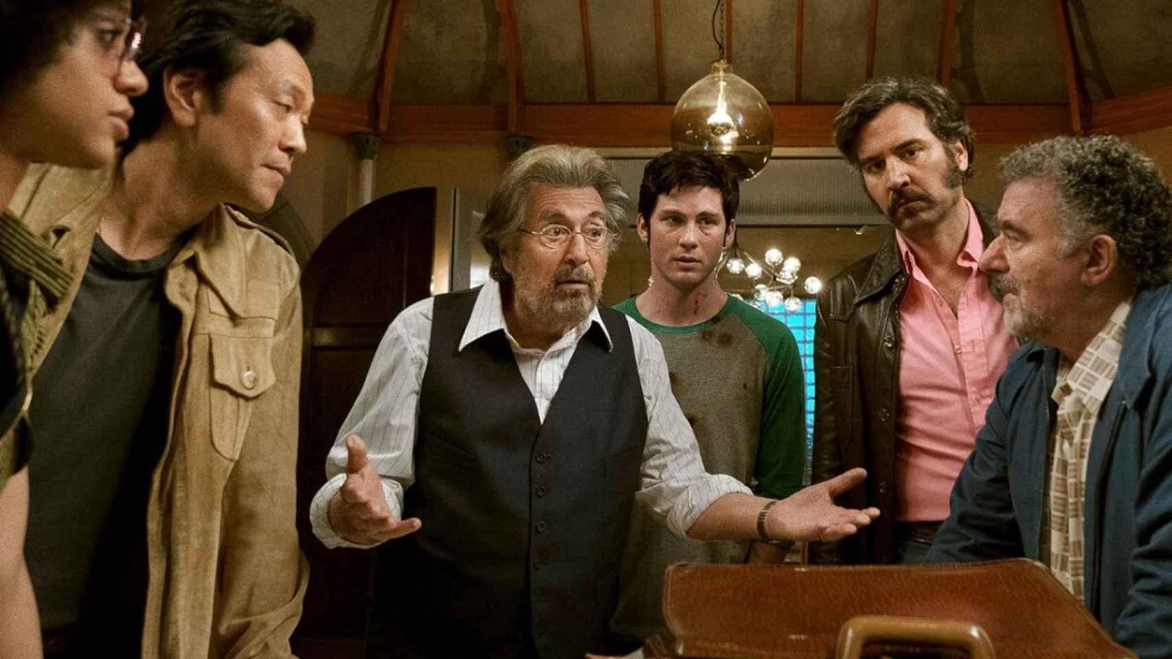 Fotograma de Hunters, con Al Pacino.