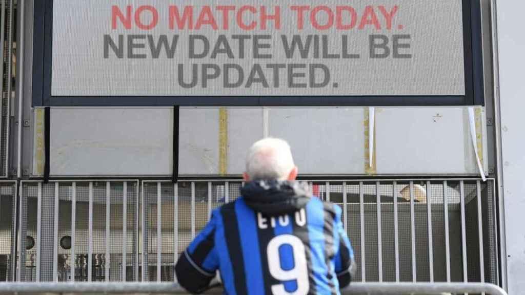 El coronavirus en la Serie A ha suspendido partidos de liga