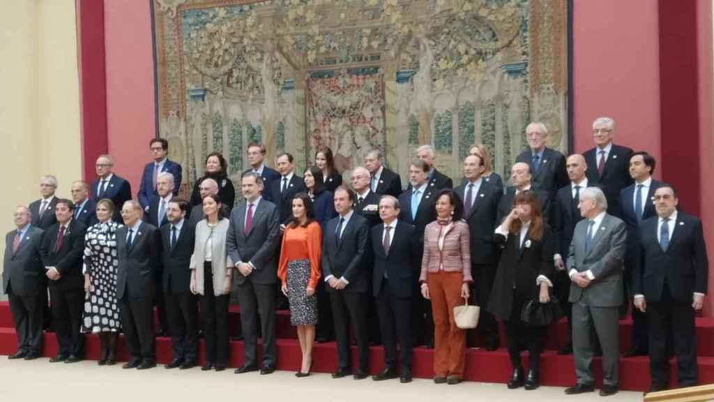 Botín frente al populismo: defiende el papel del Rey y apela a la convivencia