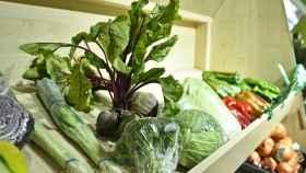 Verduras variadas a la venta en una supermercado.