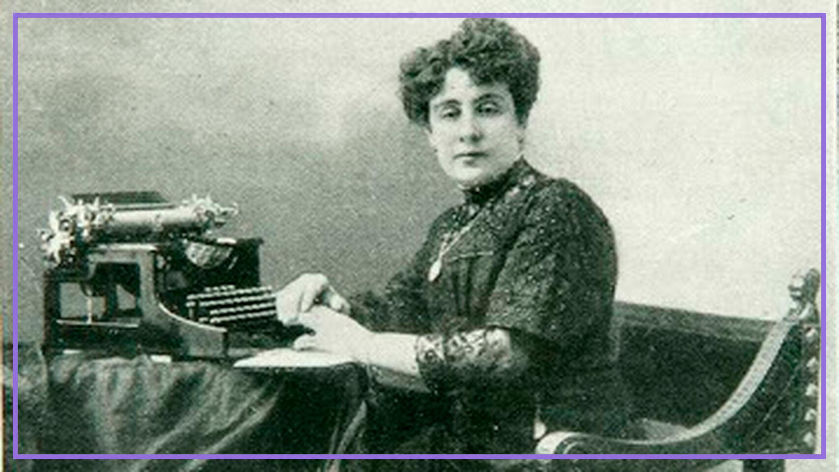 María Espinosa, presidenta de la primera asociación de mujeres que luchó por el voto femenino